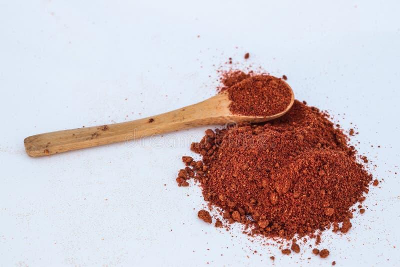 Pimienta roja natural, una especia de uso común foto de archivo