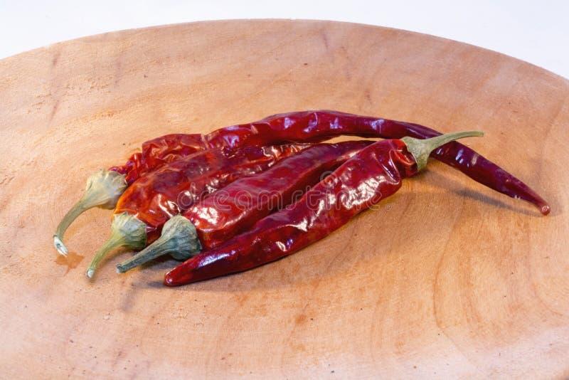 Pimienta roja secada imagen de archivo libre de regalías