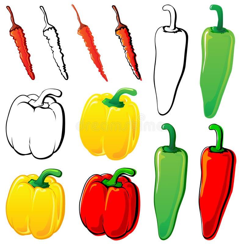 Pimientas libre illustration