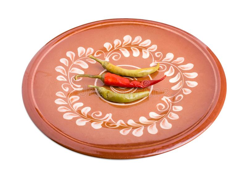 Pimientas adobadas del chile picante imagen de archivo