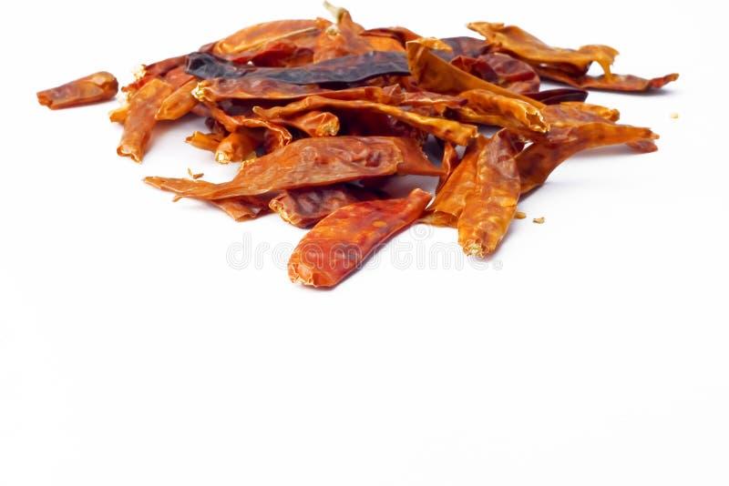 Pimientas de chile secadas imagen de archivo