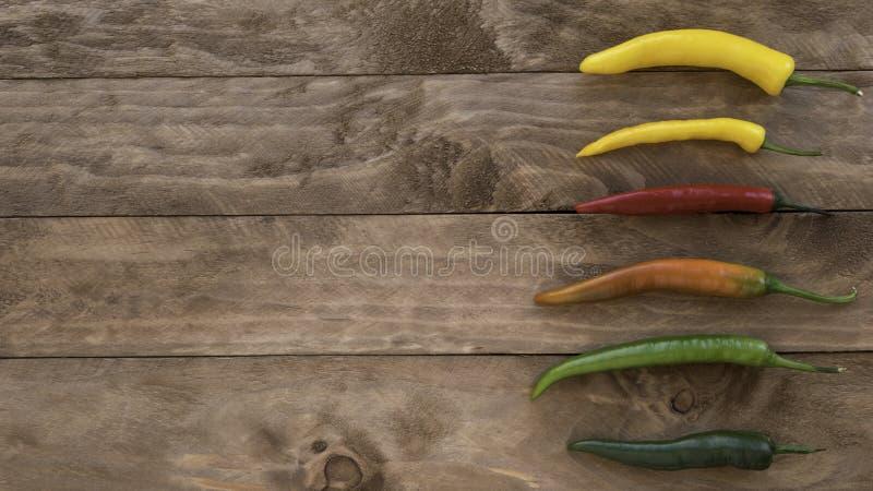 Pimientas de chiles picantes foto de archivo