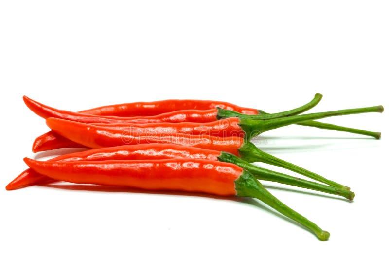 Pimientas de chiles rojos foto de archivo