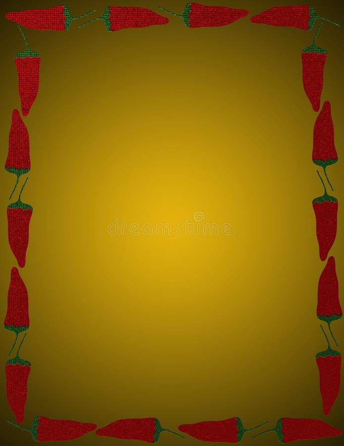 Pimientas del Jalapeno ilustración del vector
