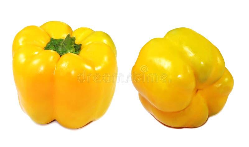 Pimiento amarillo imagen de archivo