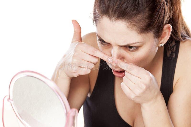 Download Pimples imagem de stock. Imagem de infecção, adolescence - 65576541