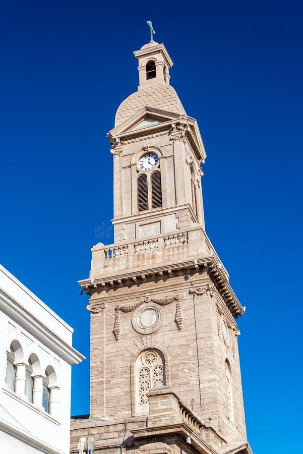 Pináculo da catedral no La Serena fotografia de stock royalty free