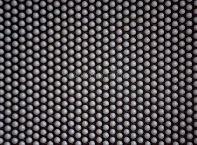Pin art pinscreen contour stock photography