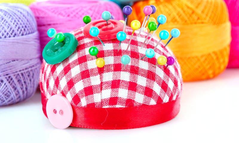 pin cushion royalty free stock image