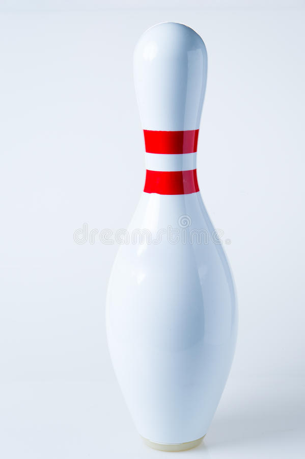Pin di bowling fotografie stock