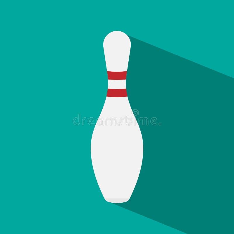 Pin di bowling illustrazione di stock