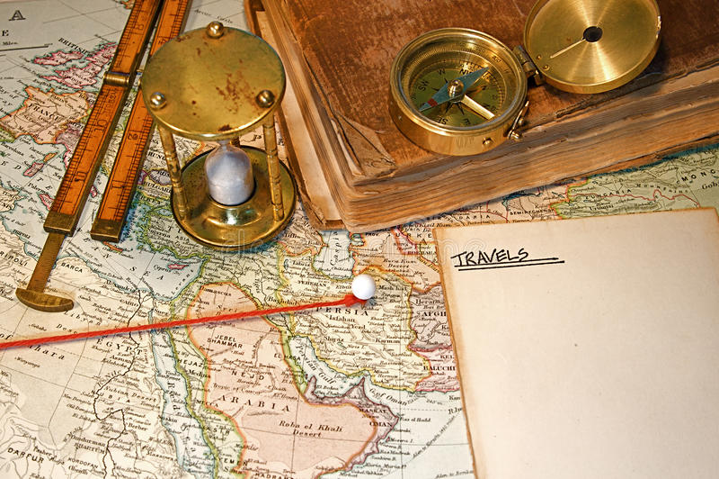 Pin do mapa fotos de stock royalty free