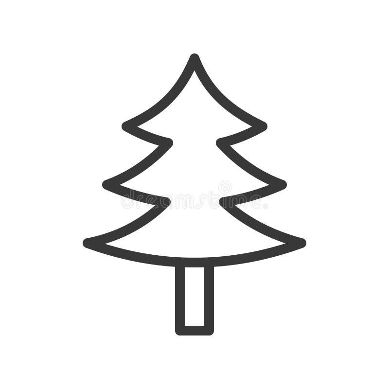 Pin, ensemble de thème de Joyeux Noël, course editable pi d'ensemble illustration de vecteur