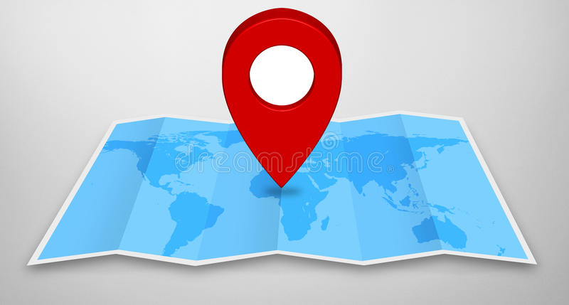 Pin map icon on a blue map stock illustration illustration of download pin map icon on a blue map stock illustration illustration of international 56269979 gumiabroncs Gallery