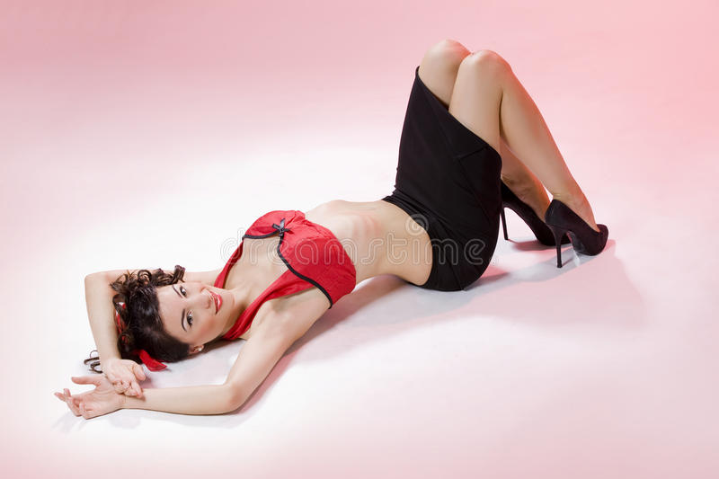 Download Pin-up Girl Stock Photo - Image: 18939570