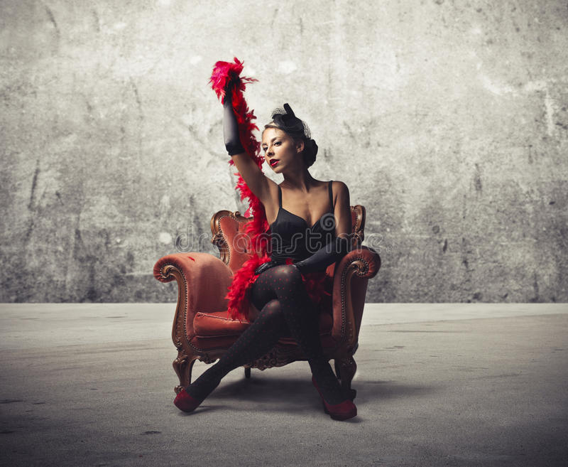 Download Pin-Up Girl stock photo. Image of sensual, baroque, concept - 25974720