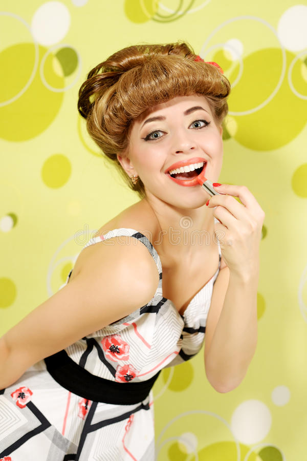 Download Pin-up Girl Stock Images - Image: 27778594