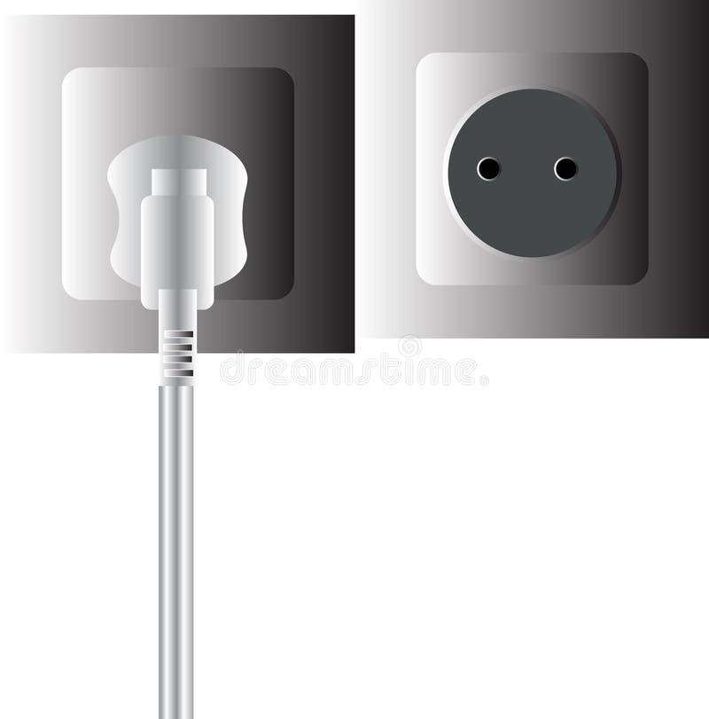 2pin wall plug stock images