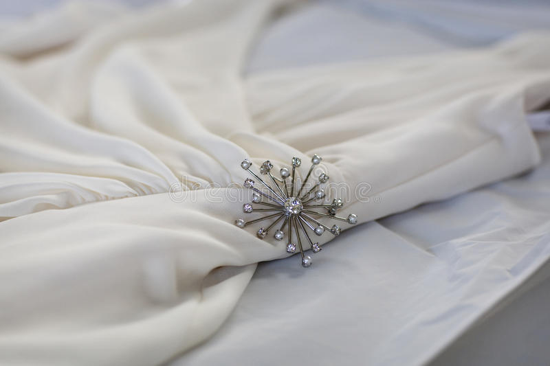 Download Pin On White Dress Royalty Free Stock Photography - Image: 17720067