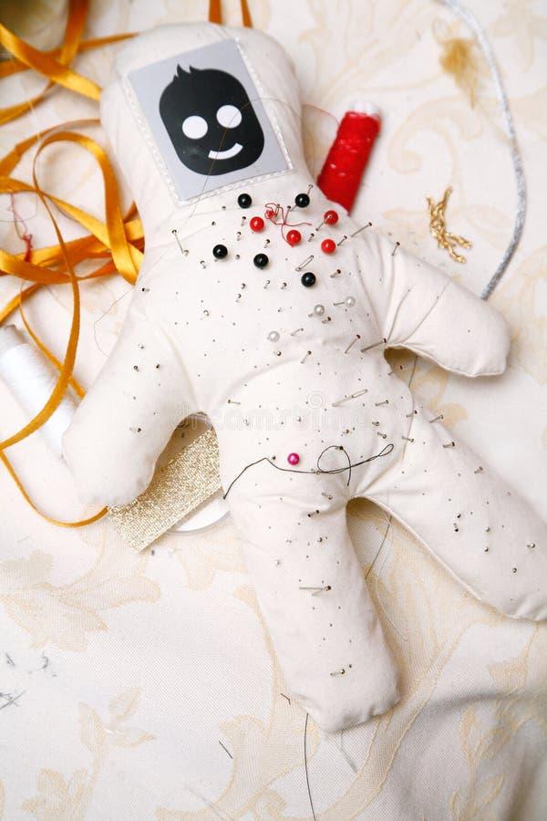 Pin y muñeca de la aguja imagen de archivo