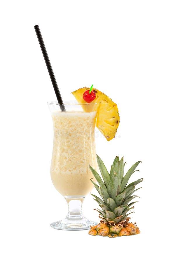 Pina Colada Cocktail stock afbeelding