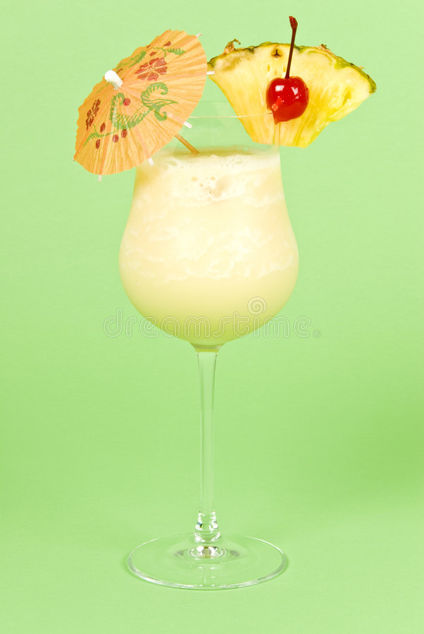 Pina Colada Cocktail royalty free stock image