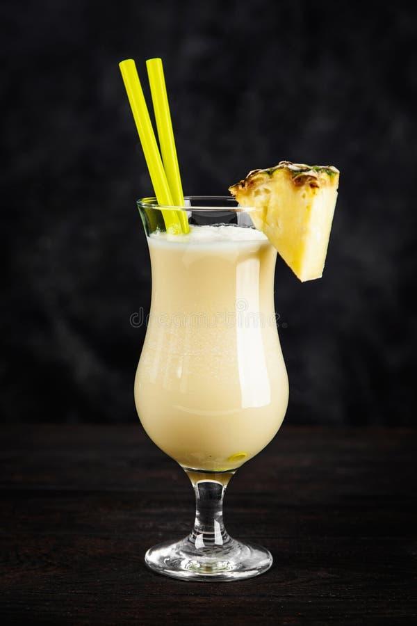Pina Colada Cocktail imagens de stock