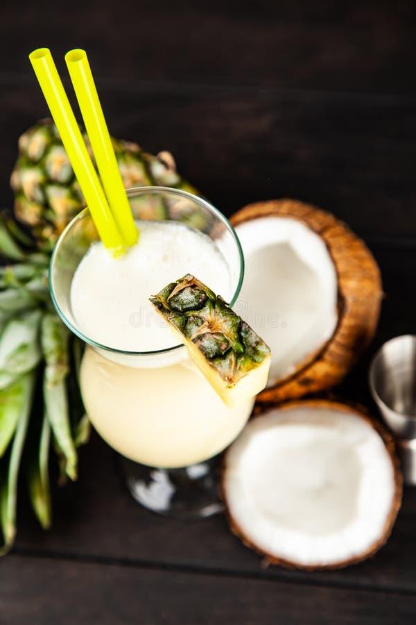 Pina Colada Cocktail imagens de stock royalty free