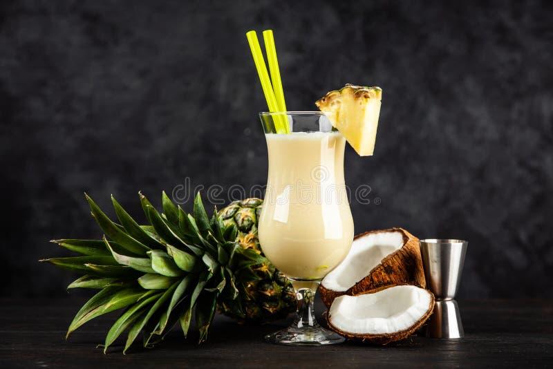 Pina Colada Cocktail fotografie stock