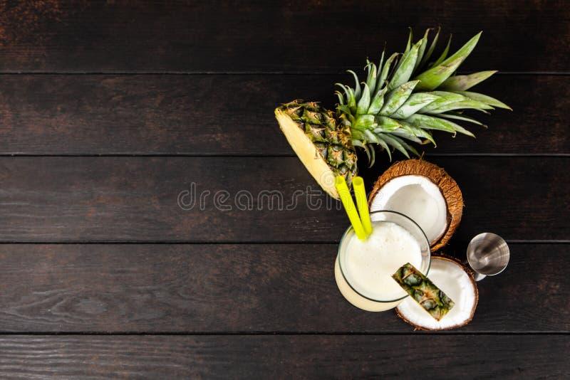 Pina Colada Cocktail immagine stock libera da diritti