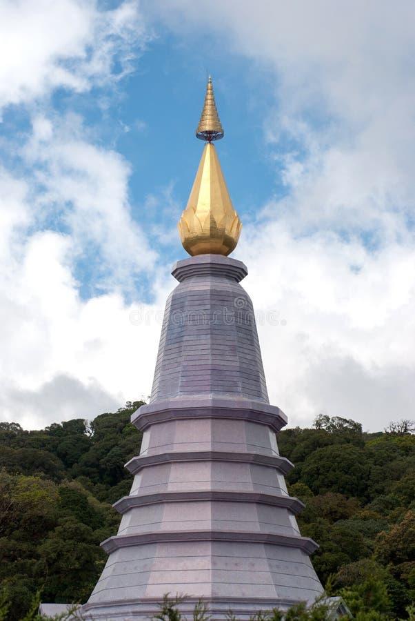 Pinakiel Chedi w Doi Inthanon parku narodowym, Chiangmai fotografia stock