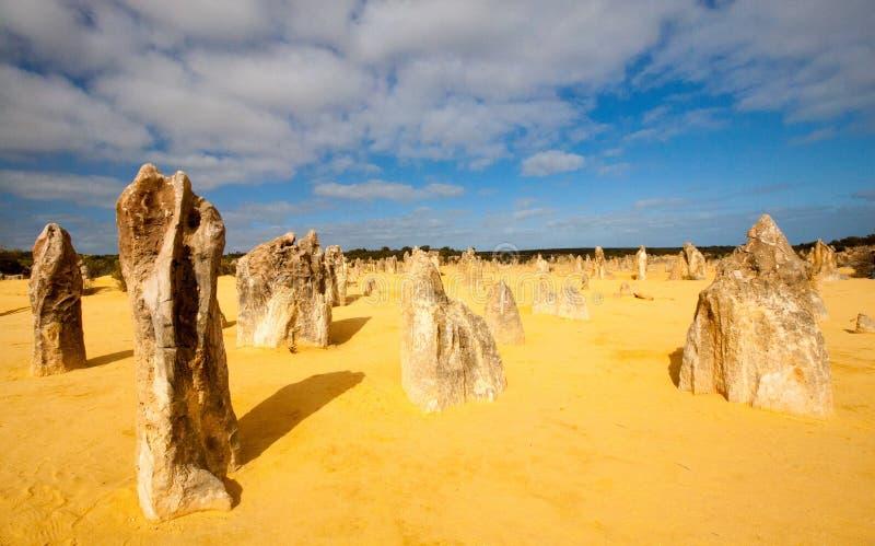 pinakle zachodniej australii zdjęcie stock