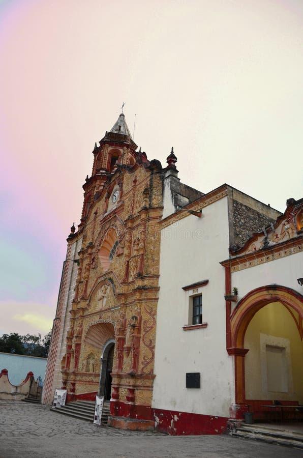 Pinal de Amoles Церковь Mision стоковые изображения