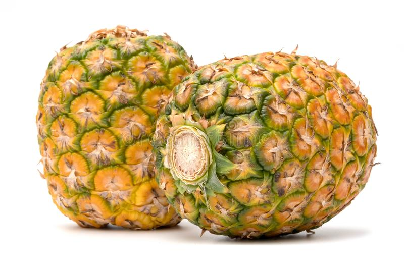 Pinapple In Closeup stock images
