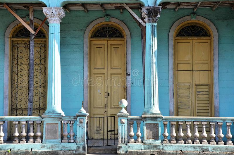 Pinar del RÃo, cidade colonial, Cuba fotos de stock