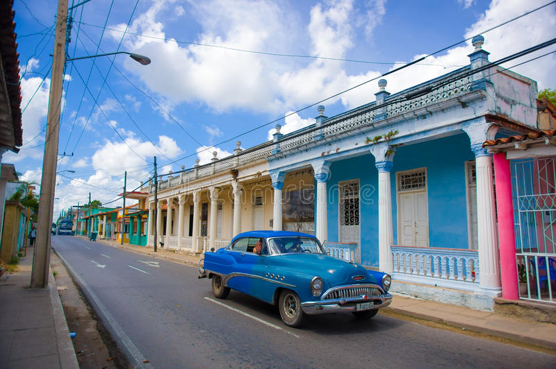 PINAR DEL RIO, CUBA - 10 DE SETEMBRO DE 2015: Do centro imagens de stock