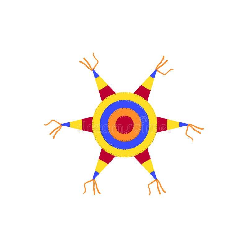Colorful Star Pinata stock vector. Illustration of ...Pinata Star Clipart