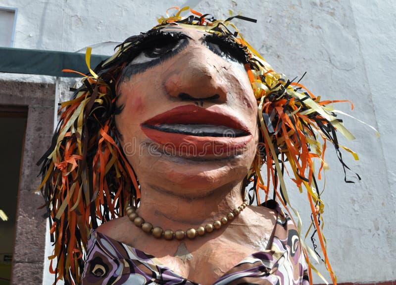 Pinata mexicano de las mujeres imagen de archivo