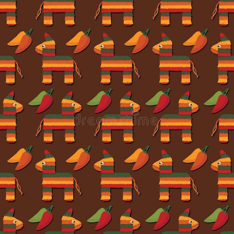 Download Pinata pattern stock vector. Illustration of backdrop - 24296334