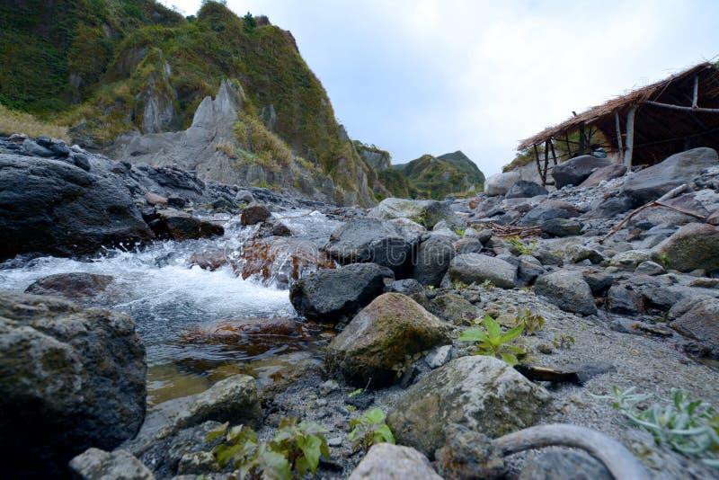 Pinatubo Trek royaltyfri foto