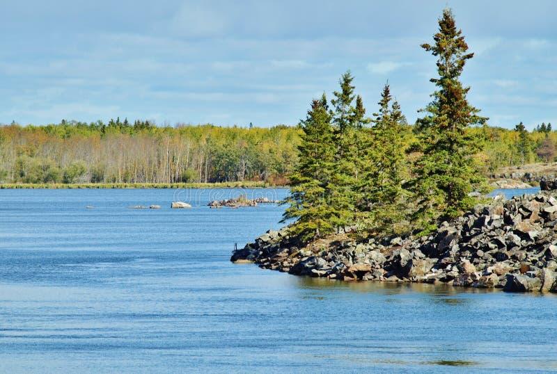Pinawa Dam Provincial Park royalty free stock photo