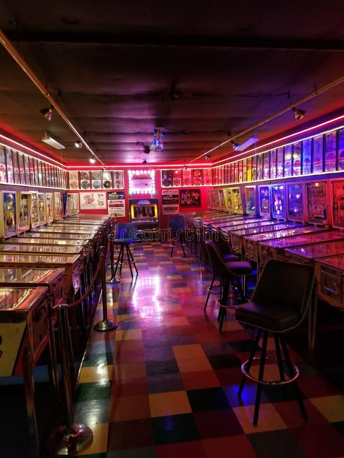 Pinball Arcade stockbilder