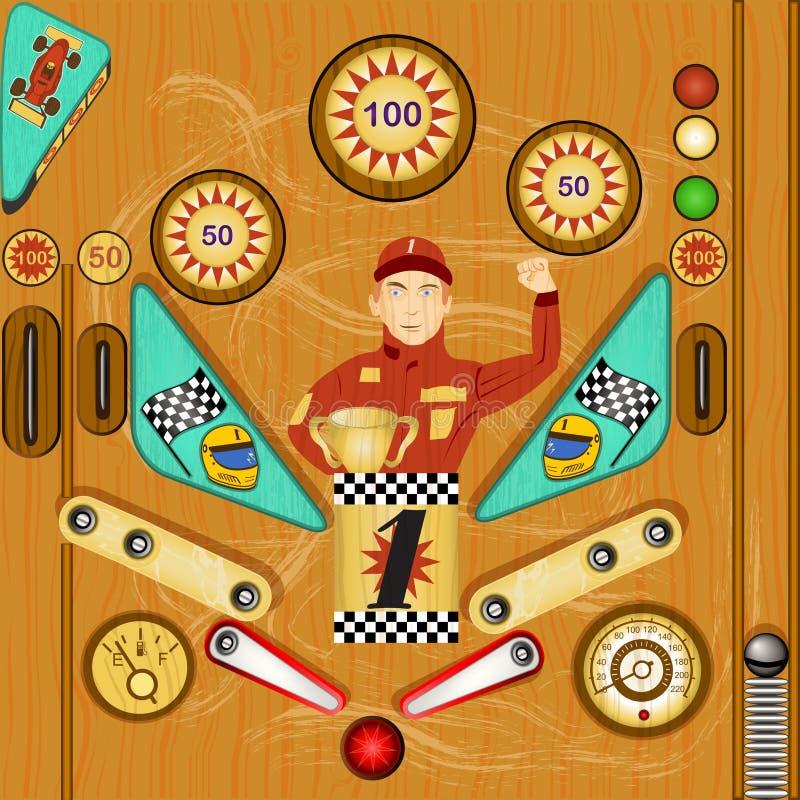 Pinball ilustracja 2 ilustracji