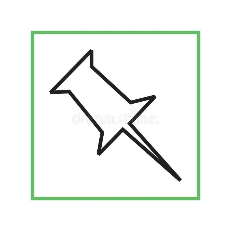 Download Pinboard vektor illustrationer. Illustration av symbol - 78731110