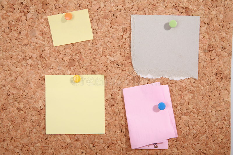 Download Pinboard stock image. Image of paper, memorize, business - 939453