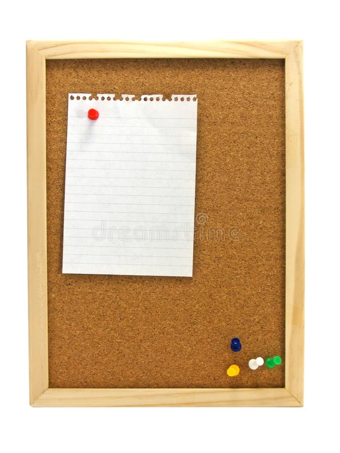Pinboard - Notice Board Stock Photography