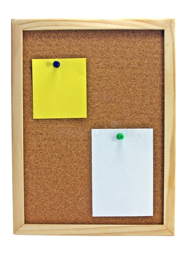 Pinboard - Notice Board Royalty Free Stock Photos