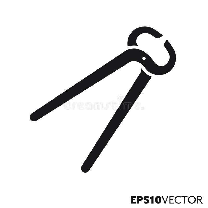 Free Pincers Vector Glyph Icon Stock Photography - 151763012