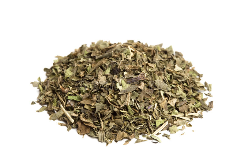 Download Pinch of Crushed Mint stock photo. Image of mint, crushed - 13193042