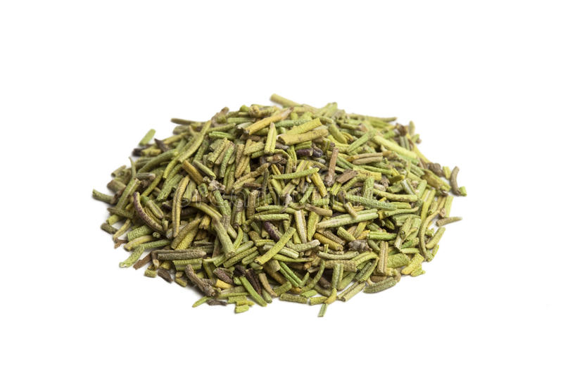 Pinch of Dried Rosemary stock photography